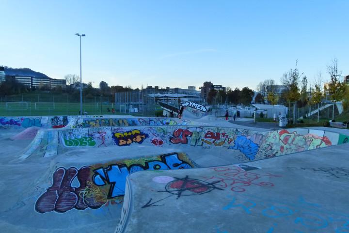 Freestyle-Park Allmend Zürich