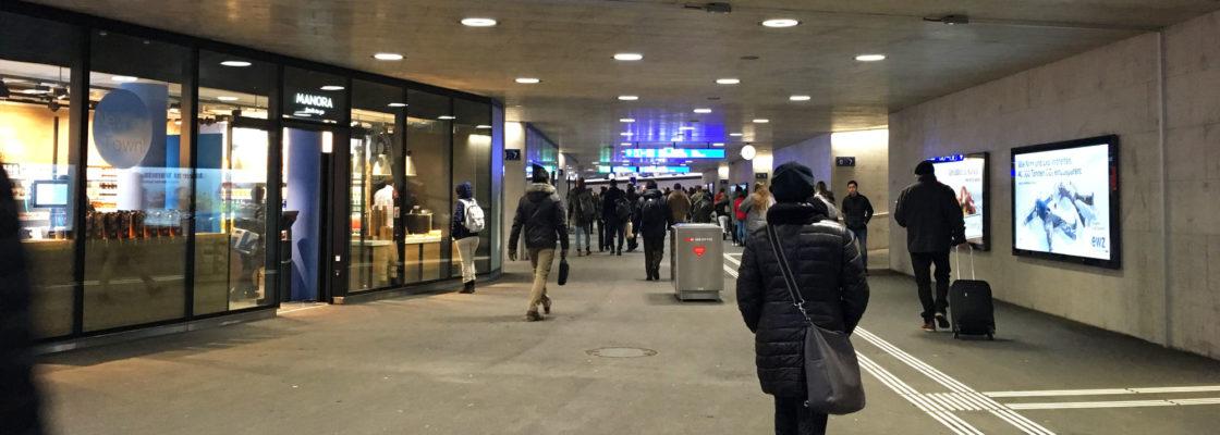 Bahnhof Oerlikon Unterführung Mitte