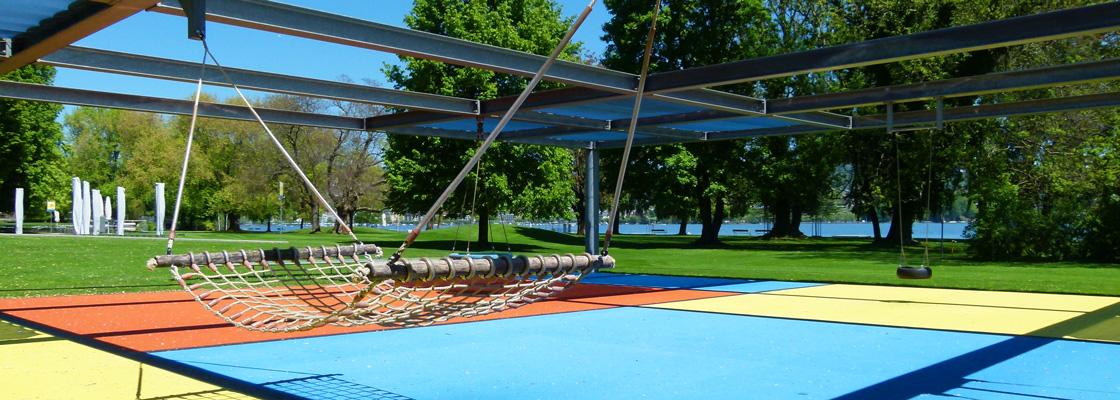 Strandbad Mythenquai Spielplatz