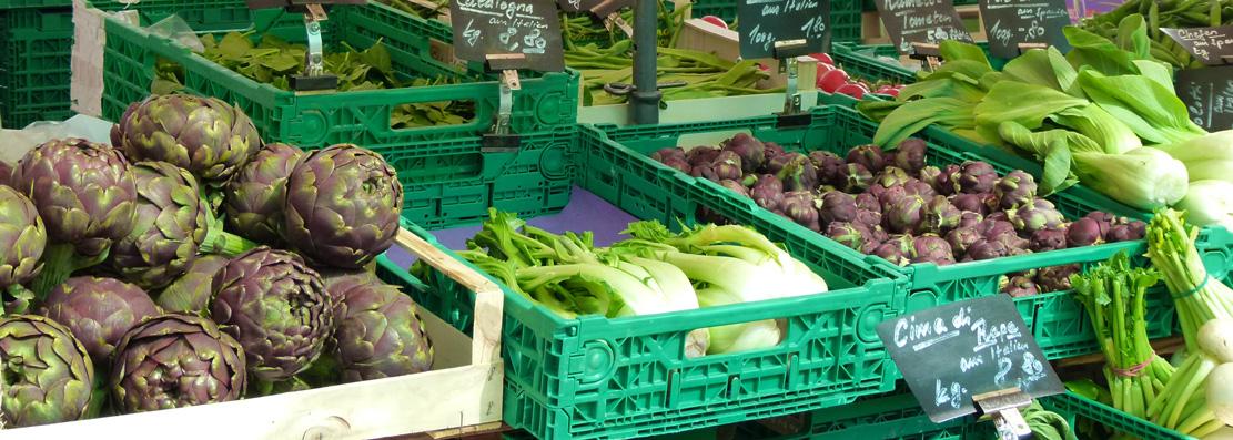 Markt Oerlikon Gemüse