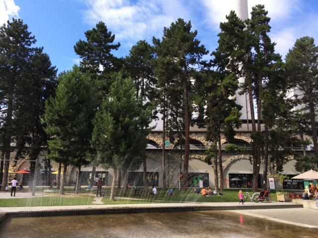 Josefwiese Brunnen