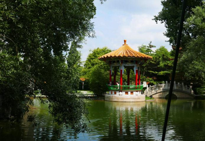 Chinagarten Pavillon